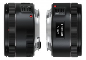 Canon nifty fifty EF 50mm f/1.8 STM