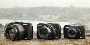 PowerShot G-series cameras
