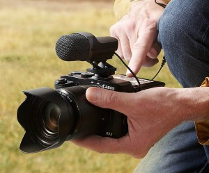 PowerShot G3 X HD video