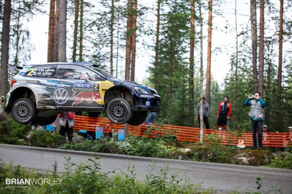 Eventual rally winner Jari-Matti Latvala