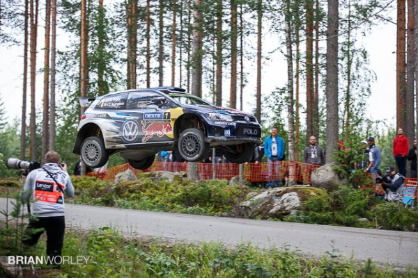 Ruuhimäki shakedown test for WRC Rally Finland 2015