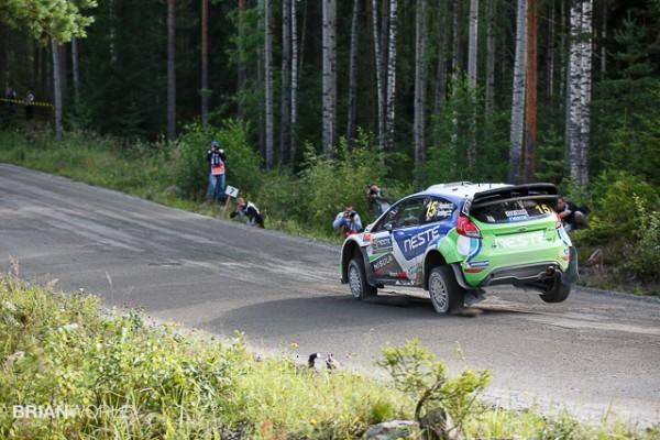 Ruuhimäki shakedown test for WRC Rally Finland 2015