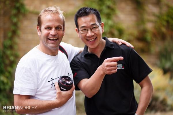 Canon Explorer Joerg Kyas and Canon Professional Services Frankie Jim
