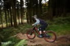 Downhill mountain bikes and steep hills