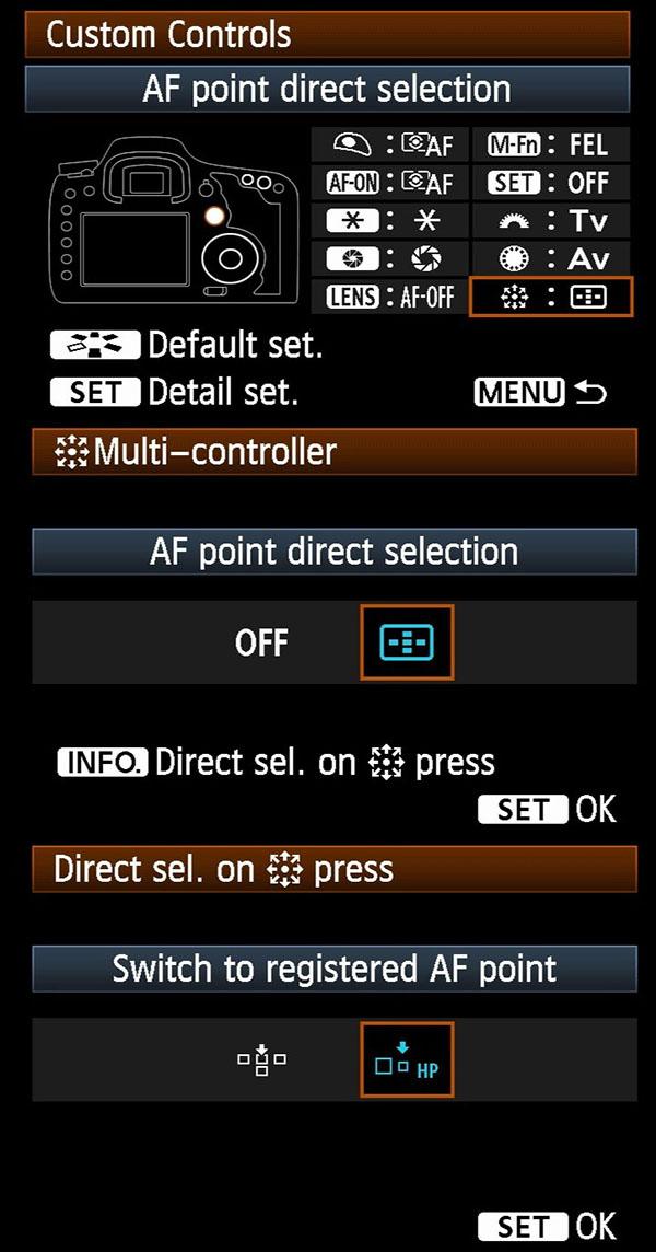 Registered AF - 7D