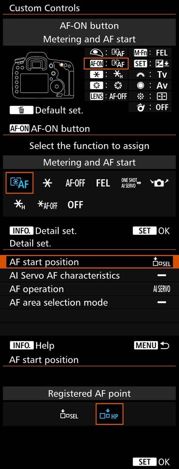 Registered AF - 7D2