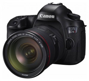The EOS 5DS R, the 80-millionth EOS-series camera produced