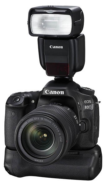 Canon launches EOS 80D & EF-S 18-135mm f/3 5-5 6 IS USM lens