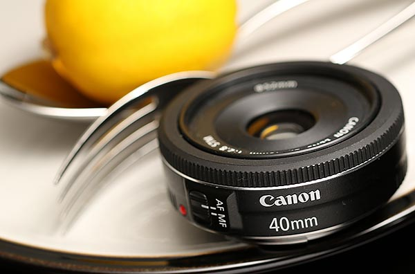 pancake day lens with lemon