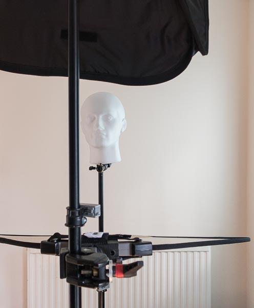 super clamp reflector headshot