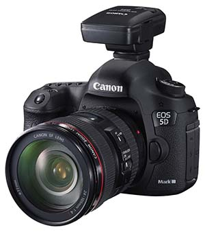 EOS 5D Mark III with GP-E2 gps receiver