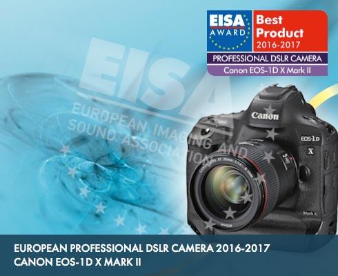 EISA awards EOS-1D X Mark II