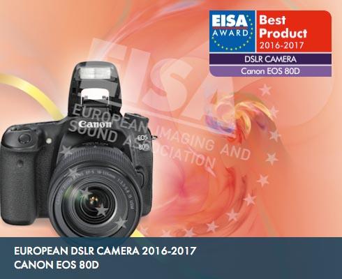 EISA awards EOS 80D