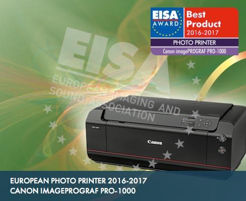 EISA awards imagePROGRAF PRO-1000