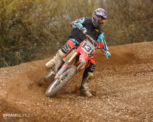 MX riders with Speedlite flash