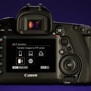 A guide to choosing the right EOS 5D Mark IV WiFi function