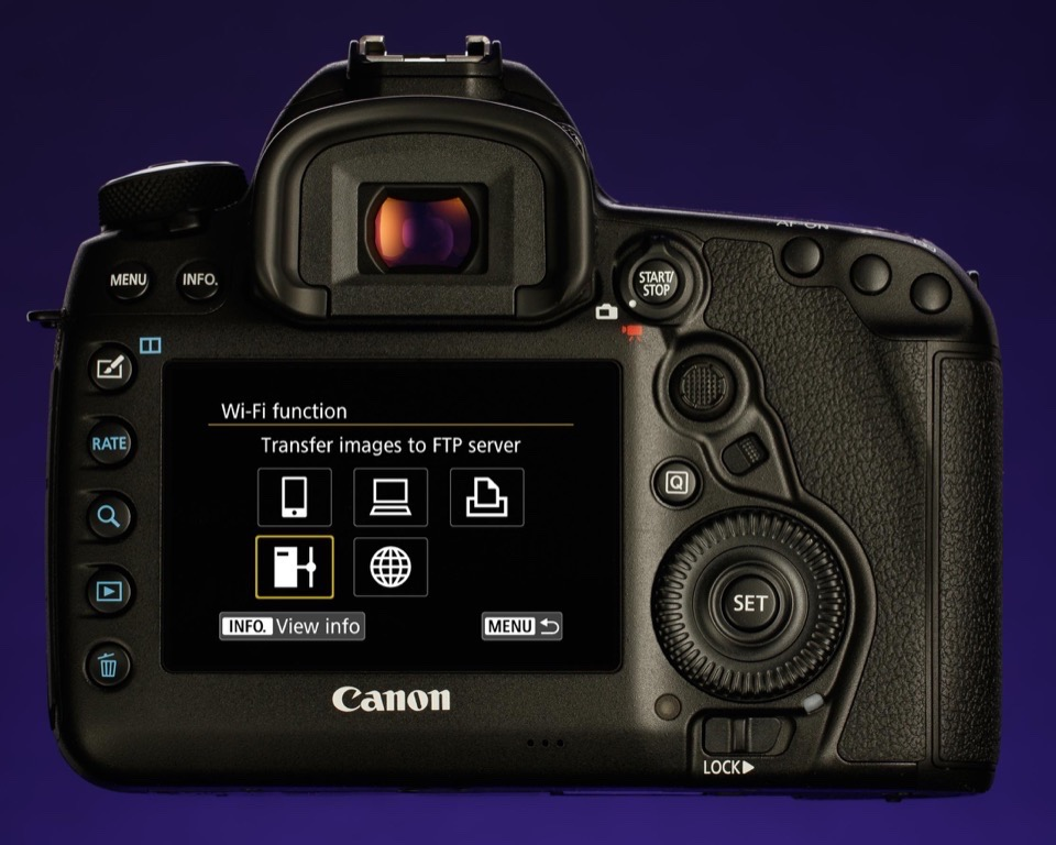How do i connect my camera to a computer? (eos 5d mark ii).