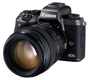 EOS M5 with EF 85mm f/1.8 USM