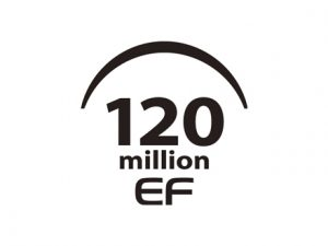 120 million EF lenses
