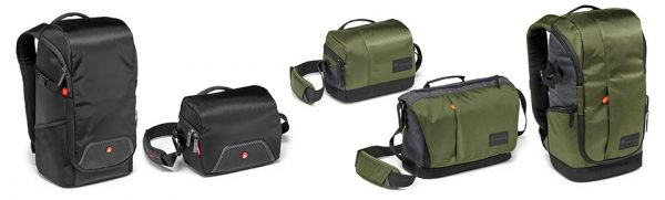 Manfrotto Street & Advanced bags
