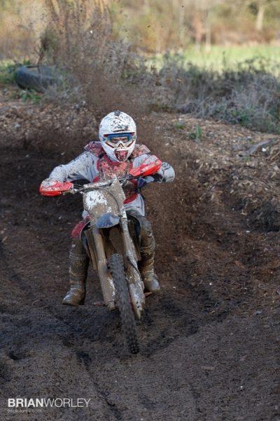 Slough motox parc moto lit with Speedlite flash