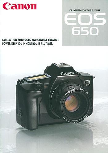 EOS 650 designed for the future