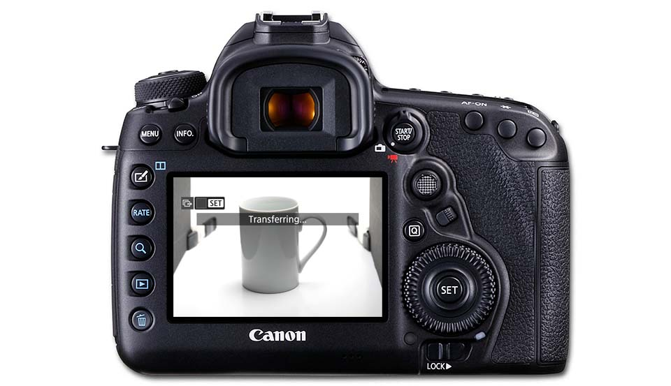 Guide to using FTP to transfer images from EOS 5D Mark IV