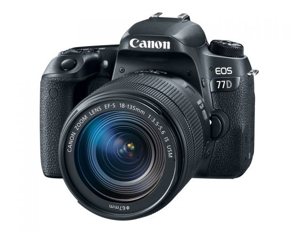 EOS 77D with EFS 18-135mm