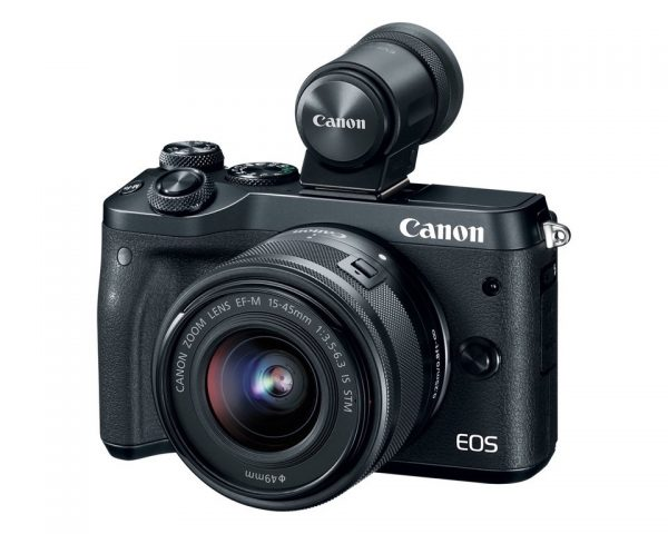 EOS M6 with EVF-DC2