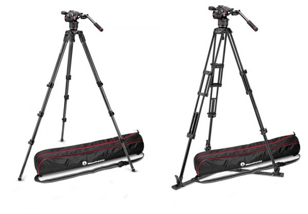 Nitrotech fluid head tripod kits