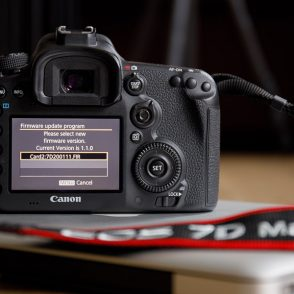 Firmware update v1.1.1 for EOS 7D Mark II