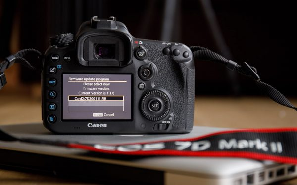 firmware update for EOS 7D Mark II