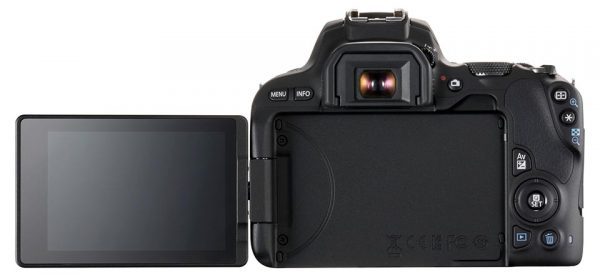 EOS 200D has a full vari-angle LCD