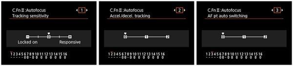 EOS 6D Mark II AF cases tuning