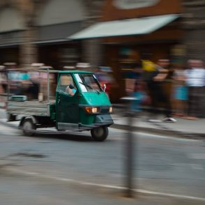 Panning with moving subjects
