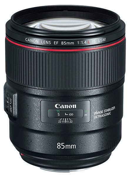EF 85mm f/1.4L IS USM