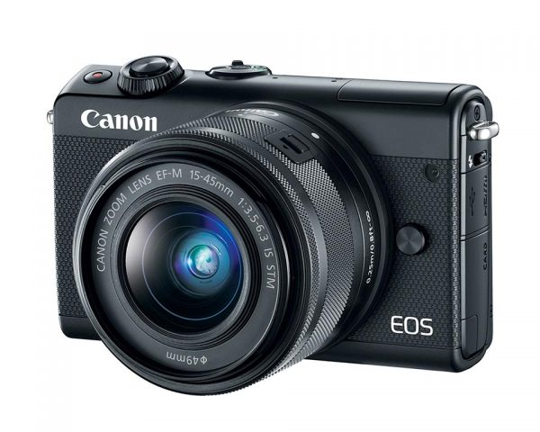 EOS M100 with EF-M 15-45mm lens