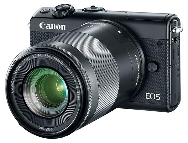 EOS M100 with EF-M 55-200mm