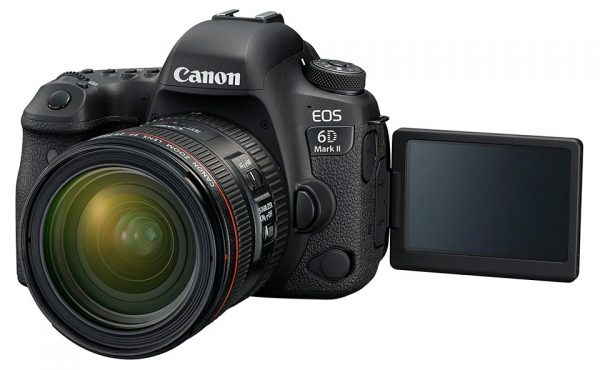 firmware update EOS 6D Mark II