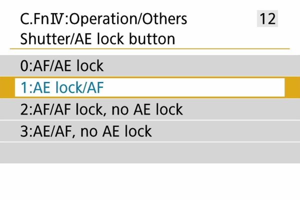 EOS 800D back button AF