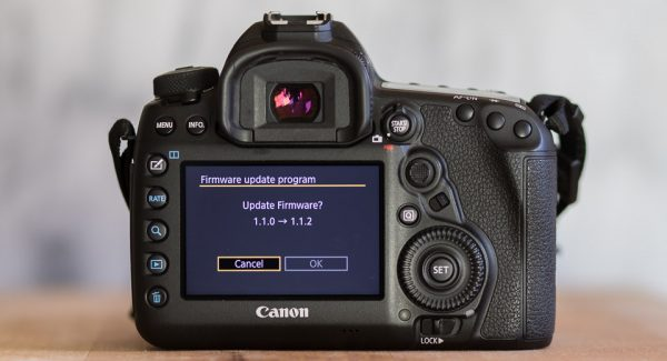 EOS 5D Mark Iv firmware update 1.1.2 available