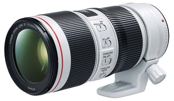 Canon updates EF 70-200mm L-series lenses