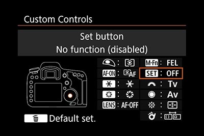 EOS 7D Mk2 manual with exposure compensation