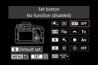 EOS 80D manual with exposure compensation
