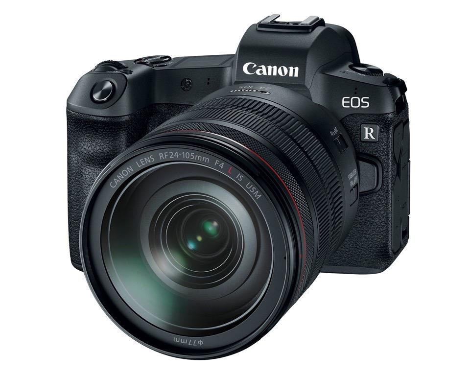 Canon Eos R Full Frame Mirrorless Camera System
