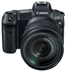 Firmware update information & download links for Canon EOS
