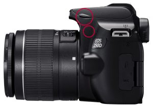 EOS 250D pull-up flash