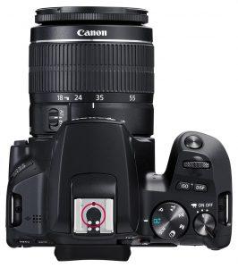 EOS 250D no centre flash connection