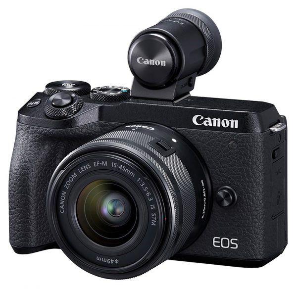 EOS M6 Mark II with EVF-DC2