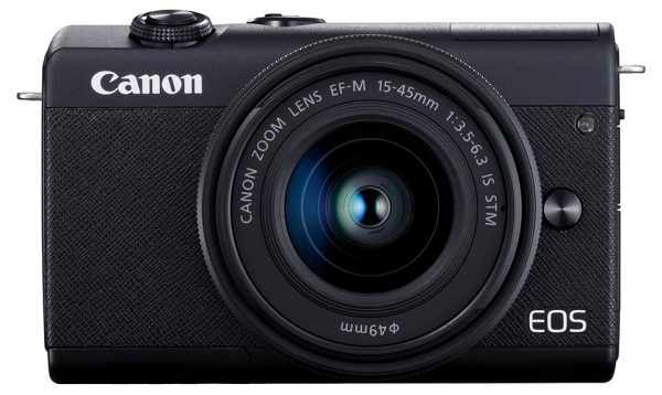 EOS M200 front view